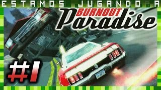 🚗💨BURNOUT PARADISE (PC) | ¡Caos En La Carretera! | Let