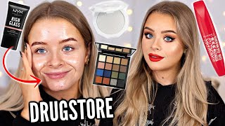 WHAT'S NEW AT THE DRUGSTORE? FULL FACE TESTING MAKEUP!!