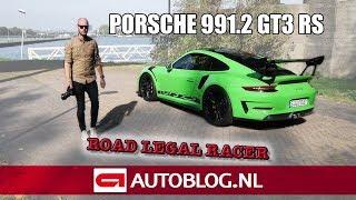 Porsche 911 GT3 RS Weissach Package (991.2) rijtest