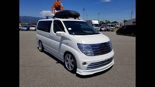 Nissan Elgrand Rider with wheel chair removable ramp @ Japcarfinder.co.uk