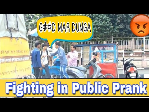 Play Fighting Prank in India | Fighting in Public