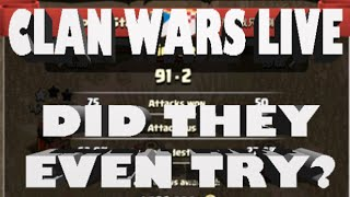 Clash of Clans- Clan Wars LIVE Ep2 HUGE Victory! Did They Even Try?