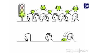 كاريكاتير.. التباعد الاجتماعي 27/3/2020