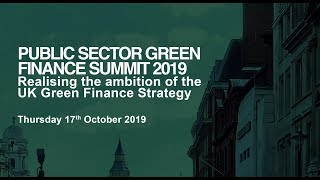 Plenary I - Greening the Financial System