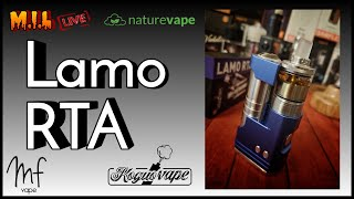 Kogua Vape Lamo RTA - Review/wicking - Violator/Vertex 1st looks - Timestamps in description