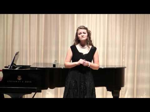 Sarah Locke 's Senior Recital at Oklahoma Christian University  Part 2