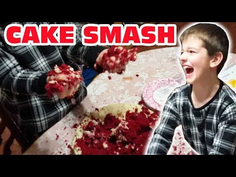 Kid Temper Tantrum Destroys Cake Cus He Couldn't Play XBOX [ Original ]