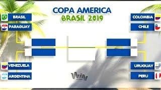 ASÍ se JUGARÁN los CUARTOS DE FINAL en la COPA AMÉRICA 2019