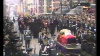 Kung Olav, död (1991)  svensk text