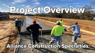 Alliance Construction Specialties Project Overview