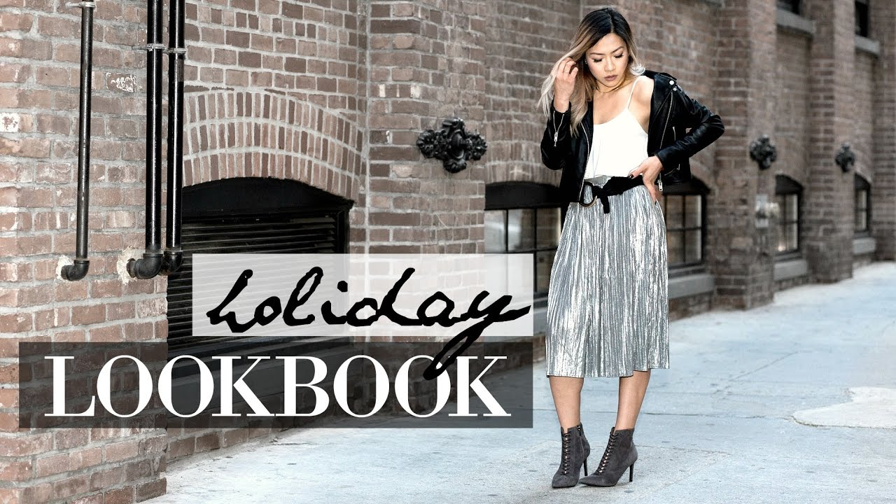 f2430833b5d4 CHRISTMAS & NEW YEARS EVE OUTFIT IDEAS 2016 | Holiday & Winter Fashion  Lookbook in DUMBO NYC