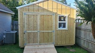 12x12 Pump/Storage Shed - Shed Plans - Stout Sheds LLC