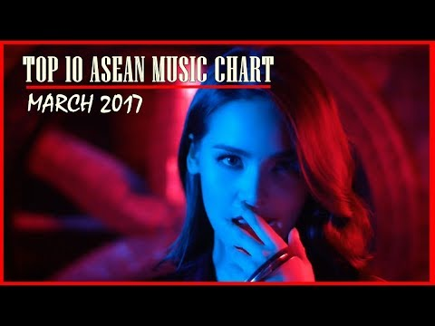 Top  Asean Music Chart March   ThaipopVpopEtc  Youtube