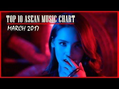 Top 10 ASEAN Music Chart March 2017 【Thaipop,Vpop,etc】 - YouTube