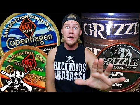 NEW Grizzly Cans!?!? and 2016 Copenhagen CAMO!!!