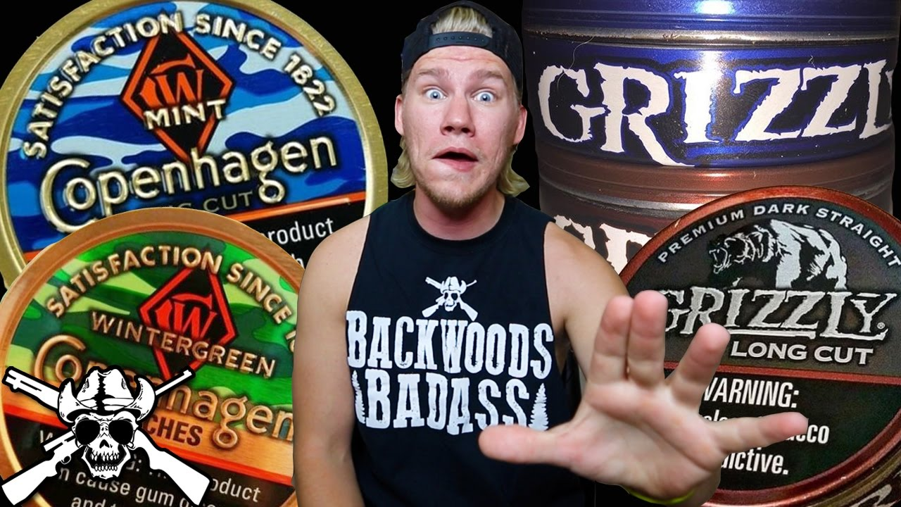 new grizzly cans and 2016 copenhagen camo youtube