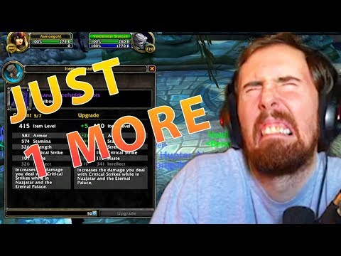 Asmongold Gets Addicted To WoW Benthic Gambling!