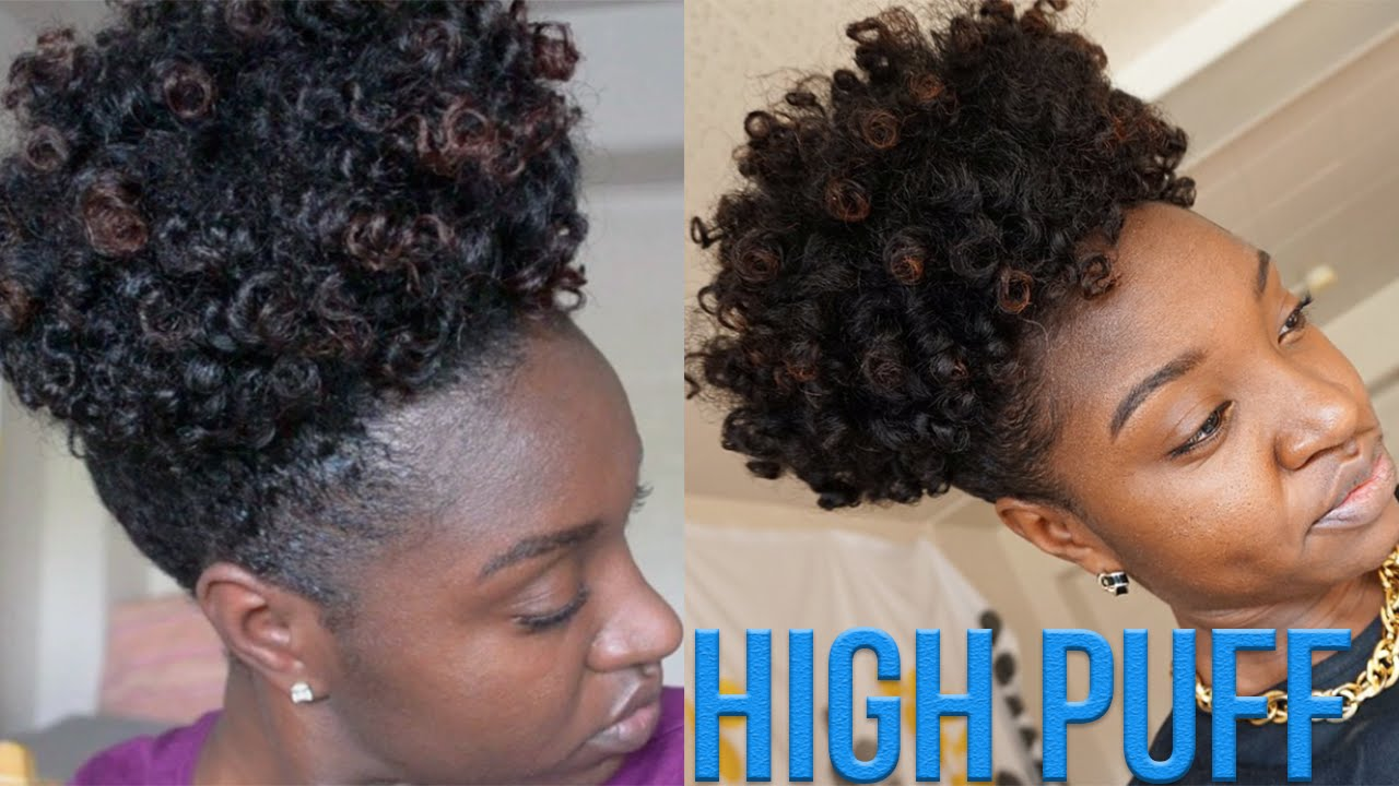 High Puff Type 4 Natural Hair Youtube