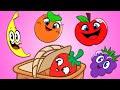फल गीत | हिंदी में फल जानें | Fruits Song | Nursery Rhymes in Hindi | HooplaKidz Hindi