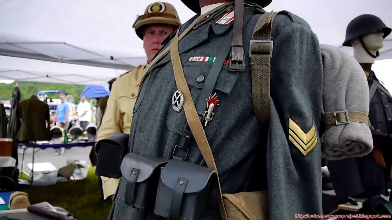Italian weapons equipment and uniform of world war 2 youtube sciox Images