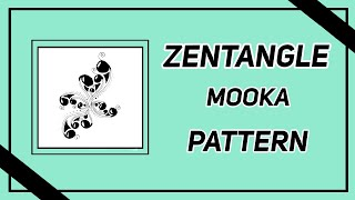 Easy Zentangle Mooka Pattern Pt 3