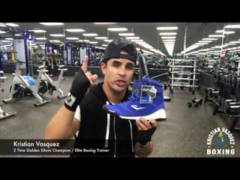 b8cd83318ae58 Boxing Shoe Review Everlast Elite High Top - YouTube