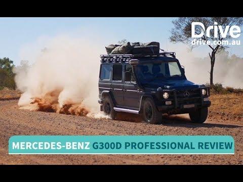 2017 Mercedes-Benz G300d Professional Review   Drive.com.au