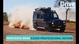 2017 Mercedes-Benz G300d Professional Review | Drive.com.au