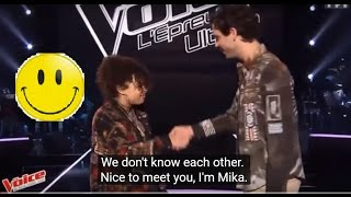"MIKA @ ""Épreuve Ultime"" - MANOAH «Down On My Knees» (Eng sub)"