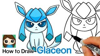 How to Draw Pokemon Glaceon