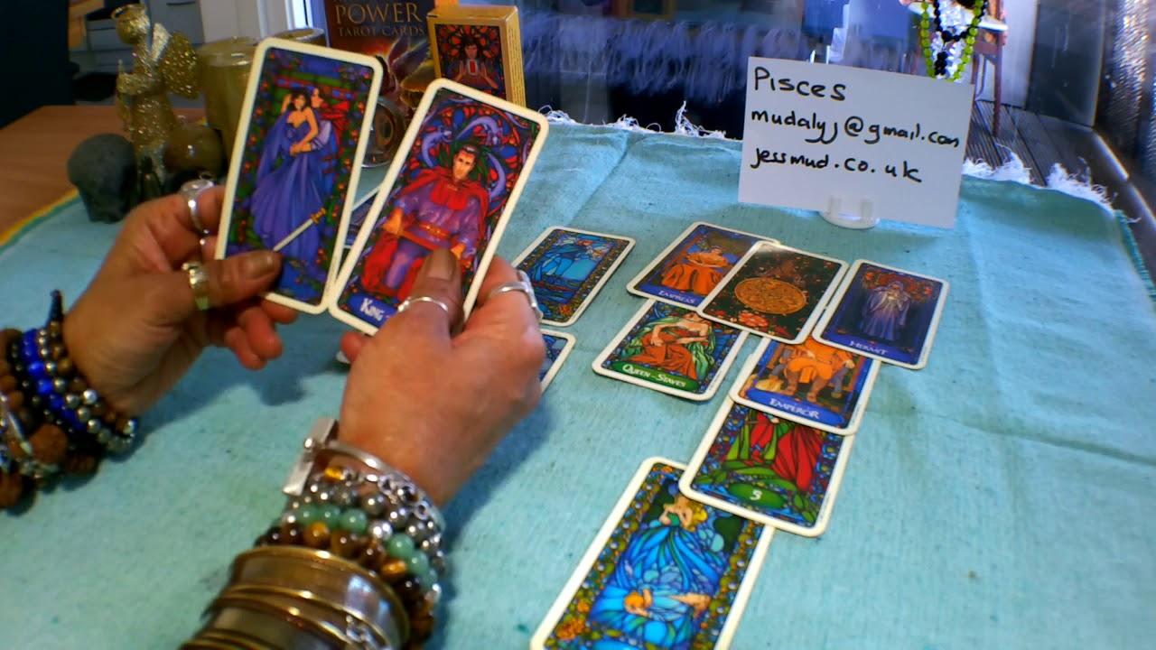 pisces love tarot card
