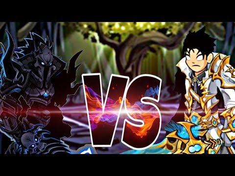 [AQW] Legion DoomKnight VS LightCaster [SOLO COMPARISON]