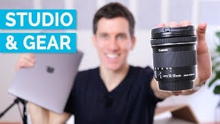 Behind the Scenes | YouTube Studio and Gear