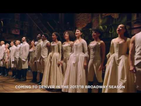 Broadway's 'Hamilton' is heading to Denver