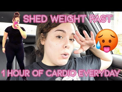 I DID 1 HOUR OF CARDIO EVERYDAY FOR A WEEK