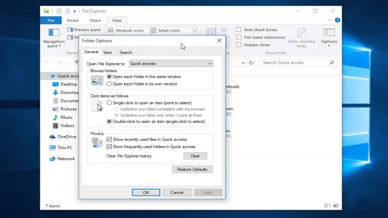 Cách Thay Đổi Quyền Truy Cập Nhanh Trên File Explorer Trong Windows 10 - HUY AN PHÁT