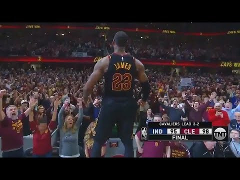 LeBron James Hits Game Winner VS Pacers and Brings The Cavaliers Crowd To Their Feet!