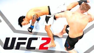 UFC 2 - LUTANDO PELO CINTURÃO! SUPER CHUTE E JIU JITSU