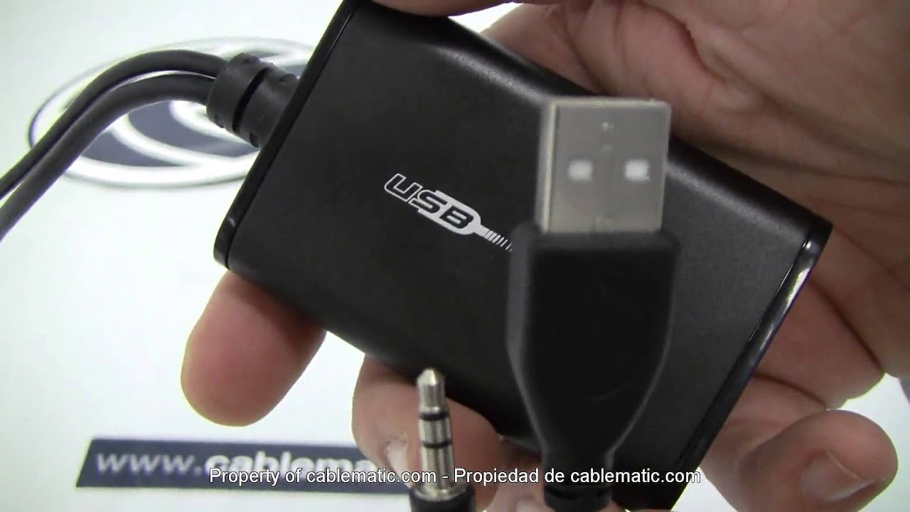 Adaptador Usb 2 0 A Hdmi Distribuido Por Cablematic