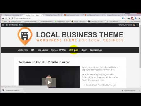 Local Business Theme 1   Install The Theme
