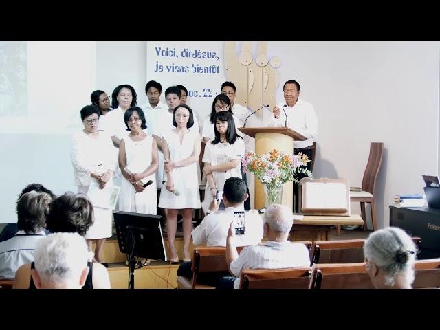 Culte liturgique du 24 août 2019