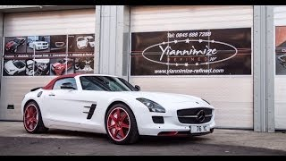 Yiannimize Mercedes SLS AMG gets Personalised!