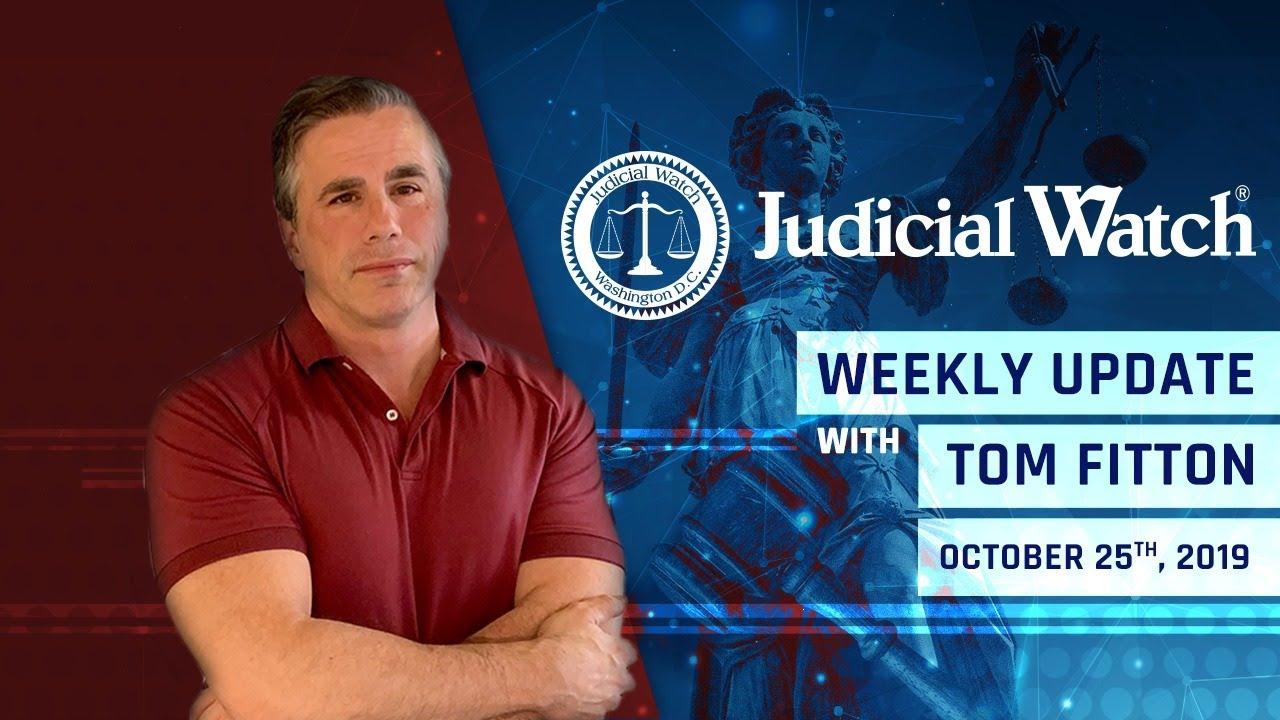 Judicial watch Finally! DOJ Criminal Investigation of #Spygate, Smoking Gun Clinton Email Cover-Up D