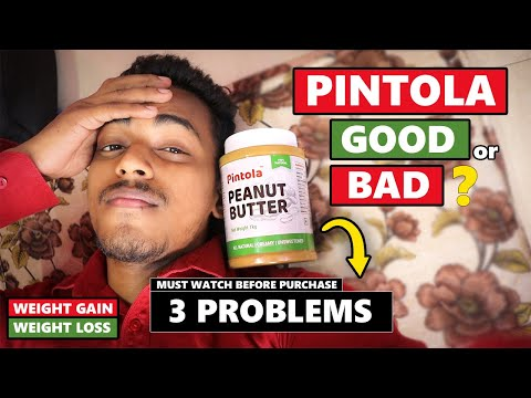 Peanut Butter का असली सच   Weight Gain or Loss?   Which Peanut Butter is good? #Pintola