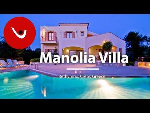 Manolia Villa to Rent in Rethymno Crete Greece | Unique Villas | uniquevillas.gr