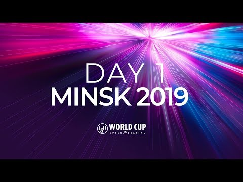 LIVE 🔴 | Day 1 | World Cup Minsk 2019 | #SpeedSkating