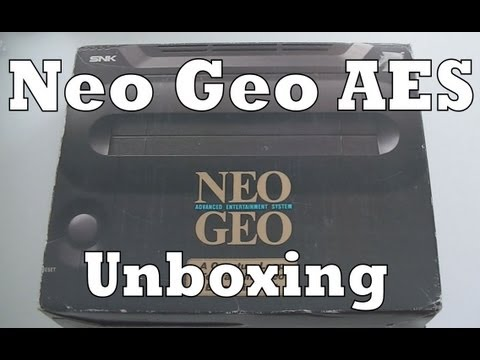 Neo Geo AES Console Unboxing & Review SNK Playmore