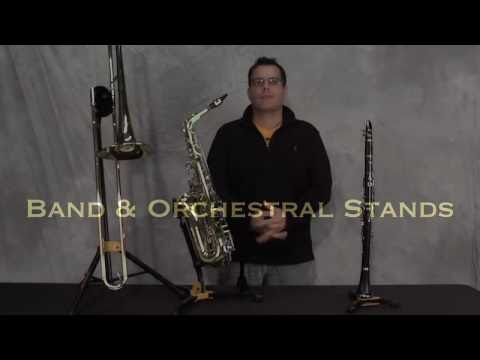 Hercules Band and Orchestral Stands