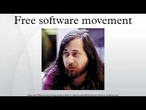 Free software movement
