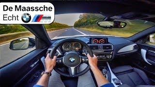 BMW M240i AUTOBAHN POV TOP SPEED 0-250km/h - BMW M De Maassche Echt